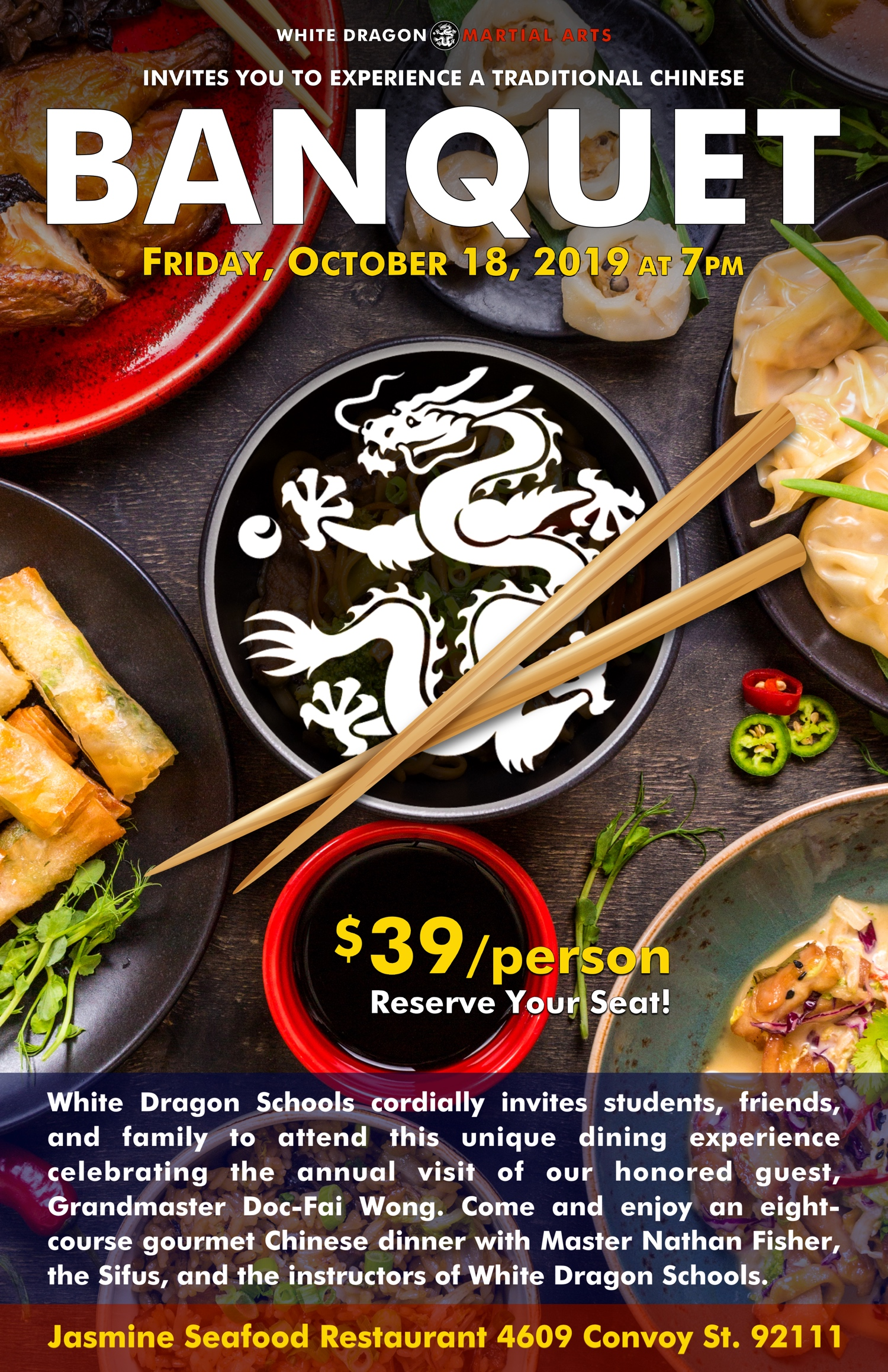 White Dragon Martial Arts Banquet 2019